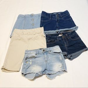 5/$18  Bundle Of Girls Shorts and Skirt | 10